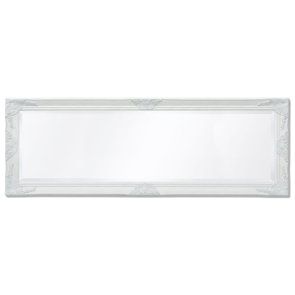 8718475525691 g en hd 4 - vidaXL Espejo de Pared Estilo Barroco 140x50 cm Blanco Espejo de Armario Retro
