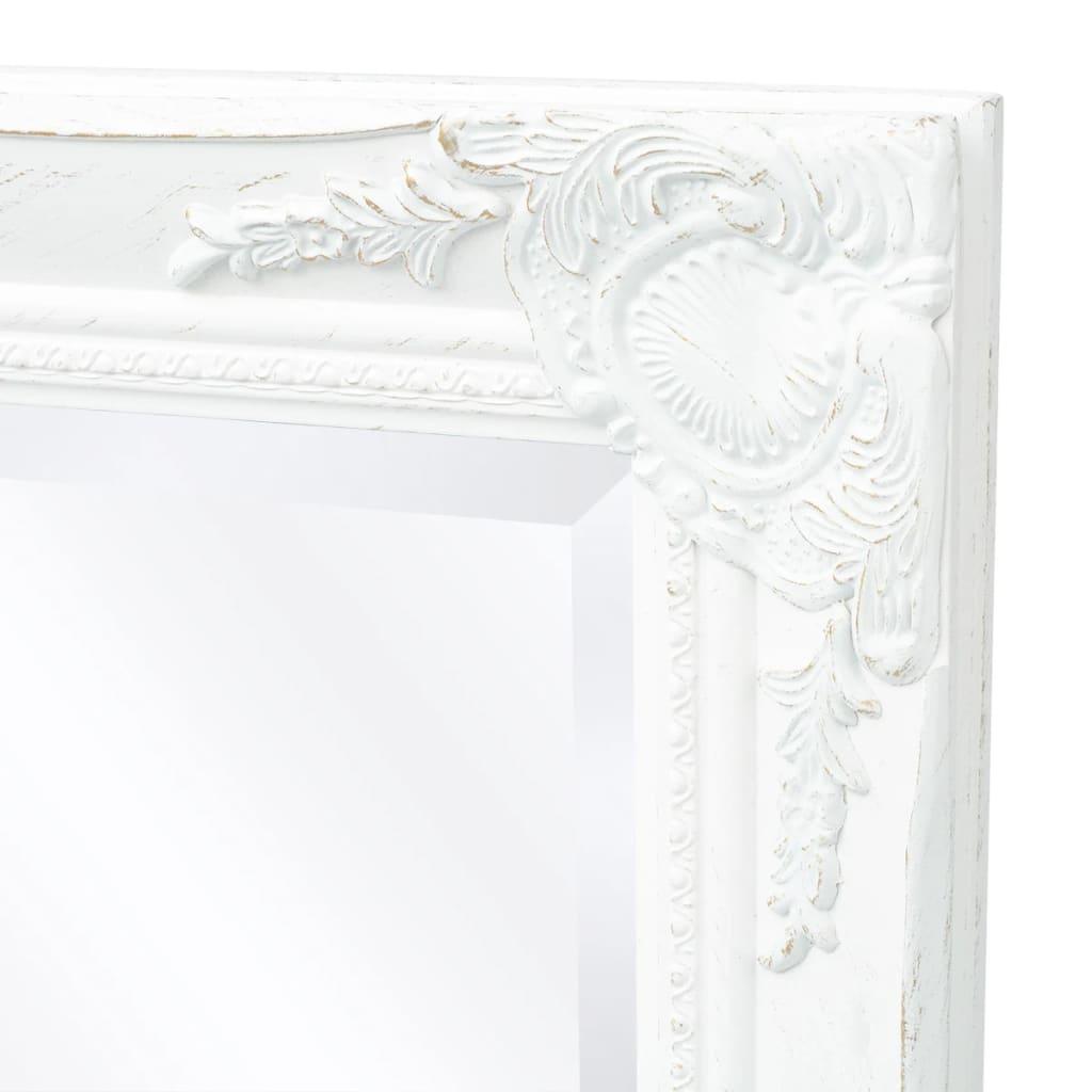 8718475525691 g en hd 5 - vidaXL Espejo de Pared Estilo Barroco 140x50 cm Blanco Espejo de Armario Retro