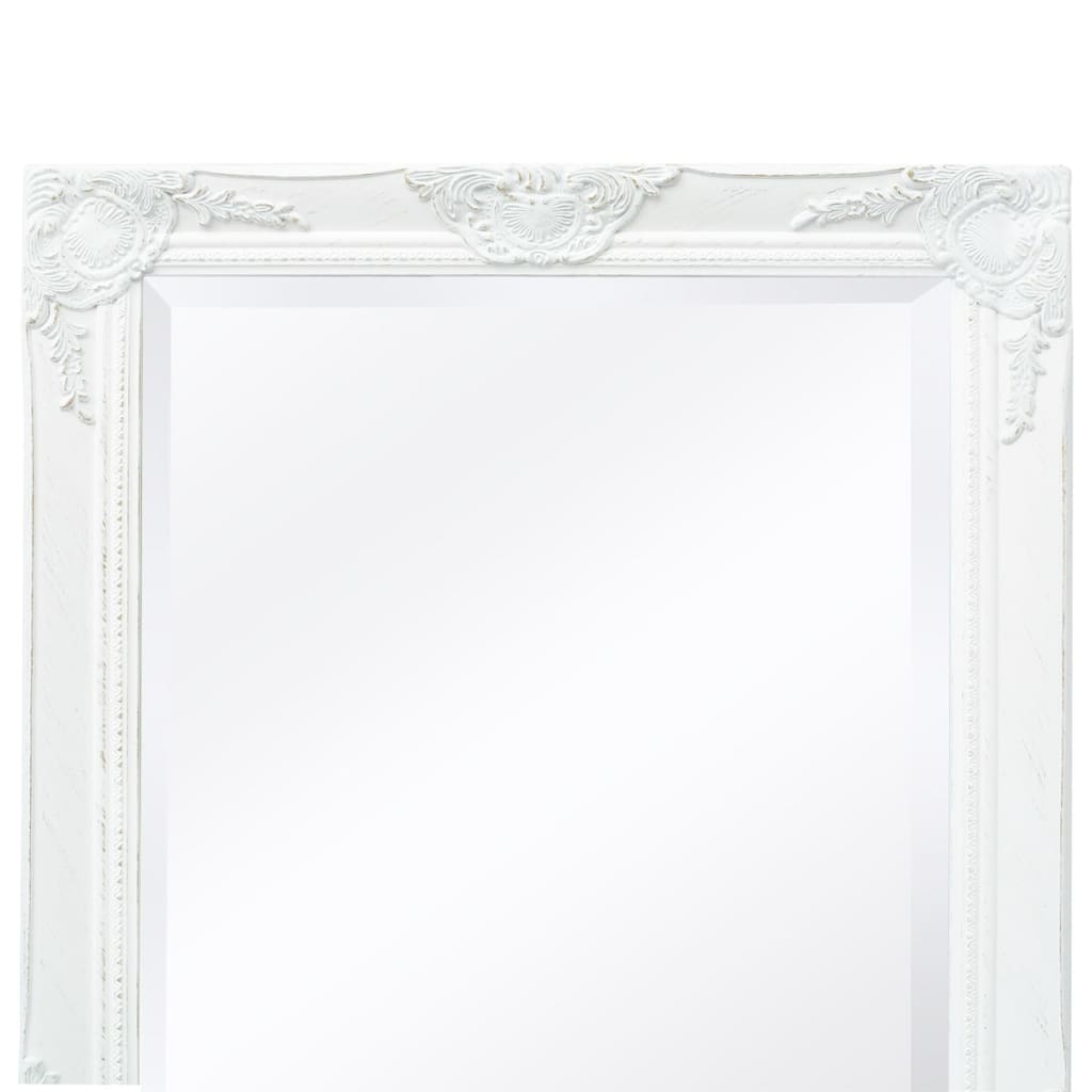 8718475525691 g en hd 6 - vidaXL Espejo de Pared Estilo Barroco 140x50 cm Blanco Espejo de Armario Retro