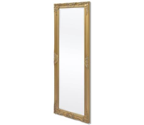 Vidaxl Wall Mirror Baroque Style 55 1, Baroque Style Gold Mirror