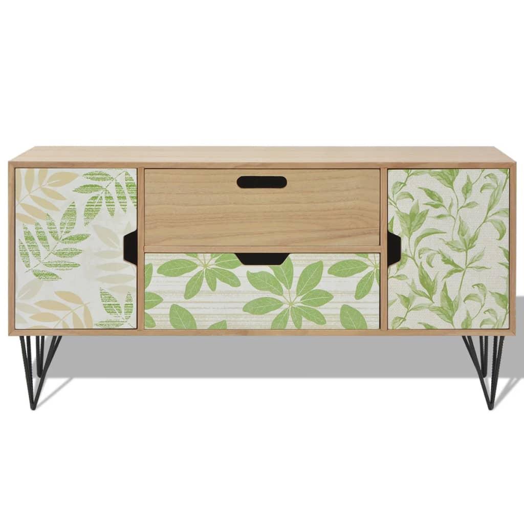 Sideboard Storage Side Cabinet Cupboard Table 2 Doors