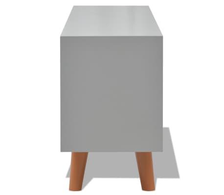 acheter vidaxl buffet 100 x 30 x 50 cm mdf gris pas cher. Black Bedroom Furniture Sets. Home Design Ideas