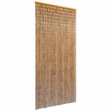 "vidaXL Door Curtain Bamboo 35.4""x78.7""[1/4]"