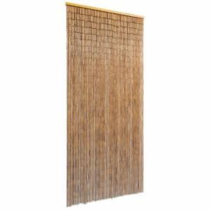 vidaXL Zavjesa za Vrata Bambus 90x200 cm