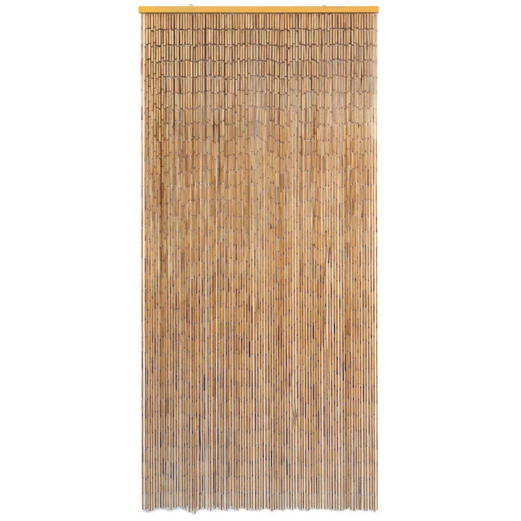 vidaXL Deurgordijn 90x200 cm bamboe