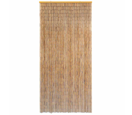 "vidaXL Door Curtain Bamboo 35.4""x78.7""[2/4]"