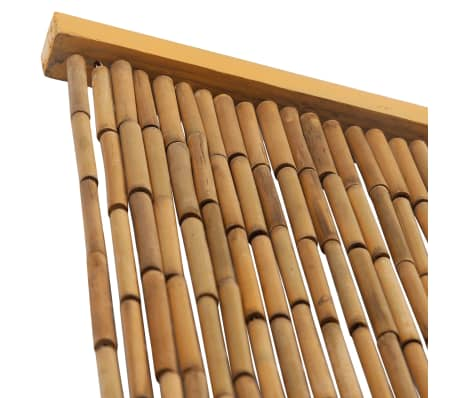"vidaXL Door Curtain Bamboo 35.4""x78.7""[3/4]"