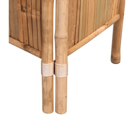 vidaXL Tilanjakaja 5 paneelia bambu 200x160 cm[4/6]