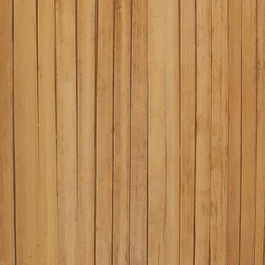 vidaXL Tilanjakaja 5 paneelia bambu 200x160 cm[6/6]