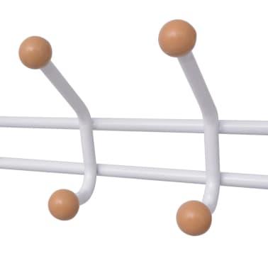 vidaXLi kingarestiga riidenagi 68 x 32 x 182,5 cm valge[3/4]