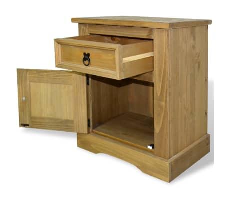 acheter vidaxl meuble de chevet pin mexicain gamme corona. Black Bedroom Furniture Sets. Home Design Ideas
