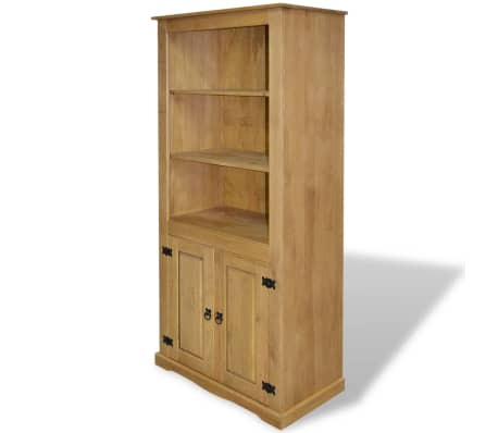 vidaxl schrank im mexiko stil kiefer massiv 80 x 40 x 170 cm zum schn ppchenpreis. Black Bedroom Furniture Sets. Home Design Ideas