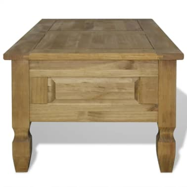 "vidaXL Coffee Table Mexican Pine Corona Range 39.4""x23.6""x17.7""[4/6]"