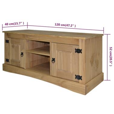 "vidaXL TV Cabinet Mexican Pine Corona Range 47.2""x15.7""x20.5""[5/5]"