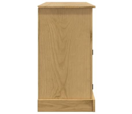 """vidaXL Sideboard Solid Mexican Pinewood Corona Range 52""""x16.9""""x30.7""""[5/8]"""