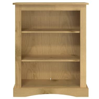 vidaXL Knygų spinta, 3 lentynos, meks. pušis, Corona st. 81x29x100 cm[3/6]