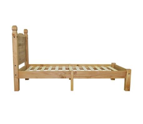 "vidaXL Bed Frame Mexican Pine Corona Range 35.4""x78.7""[4/6]"