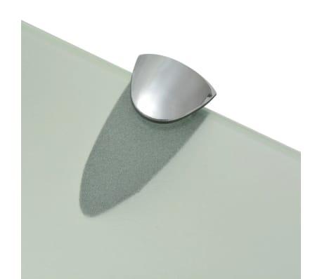 vidaXL lebegő polc üveg 40x10 cm 8 mm[4/4]