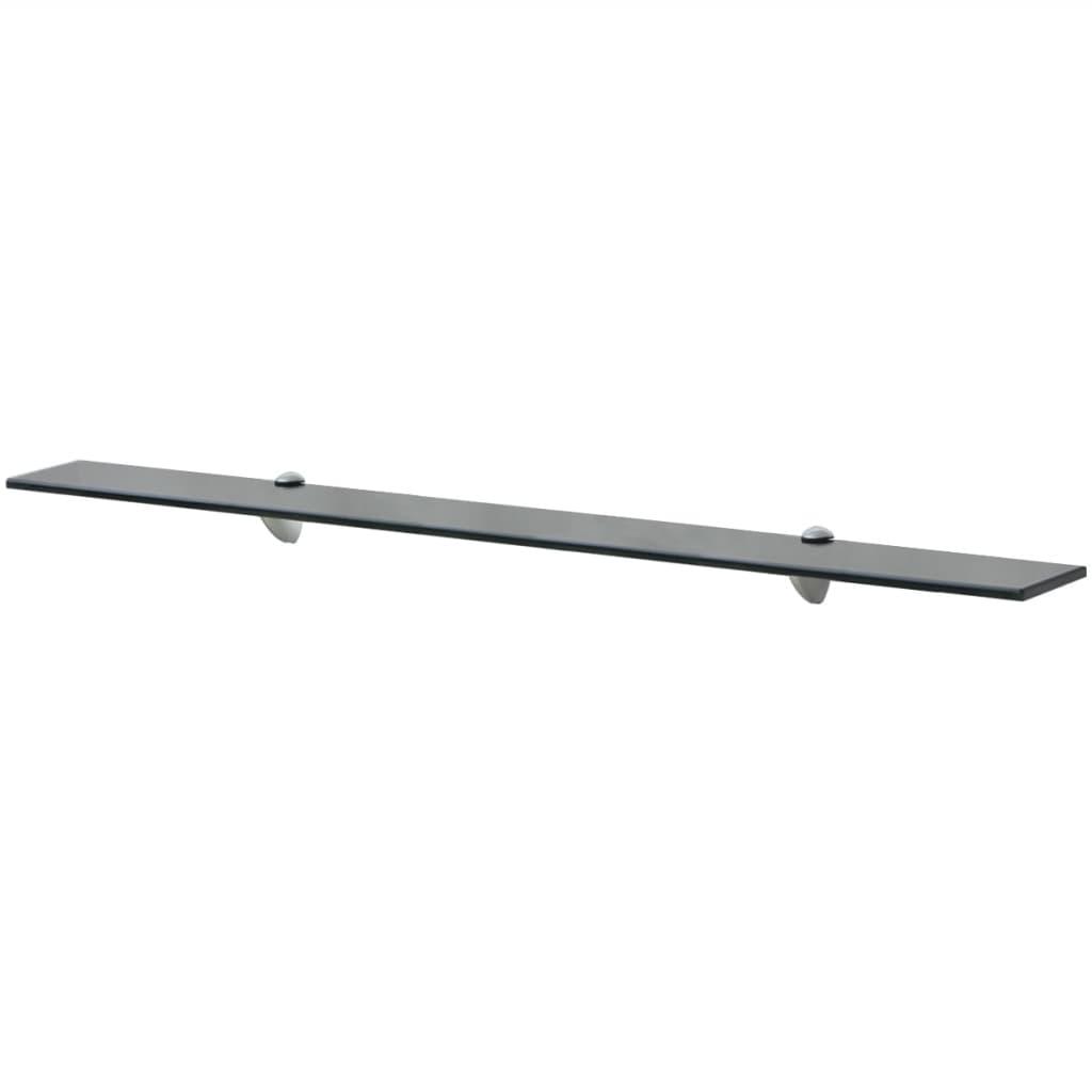 Plovoucí skleněná police 100x20 cm 8 mm