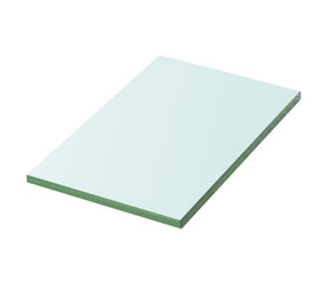 vidaXL Lentynos plokštė, skaidrus stiklas, 20x12 cm[1/2]