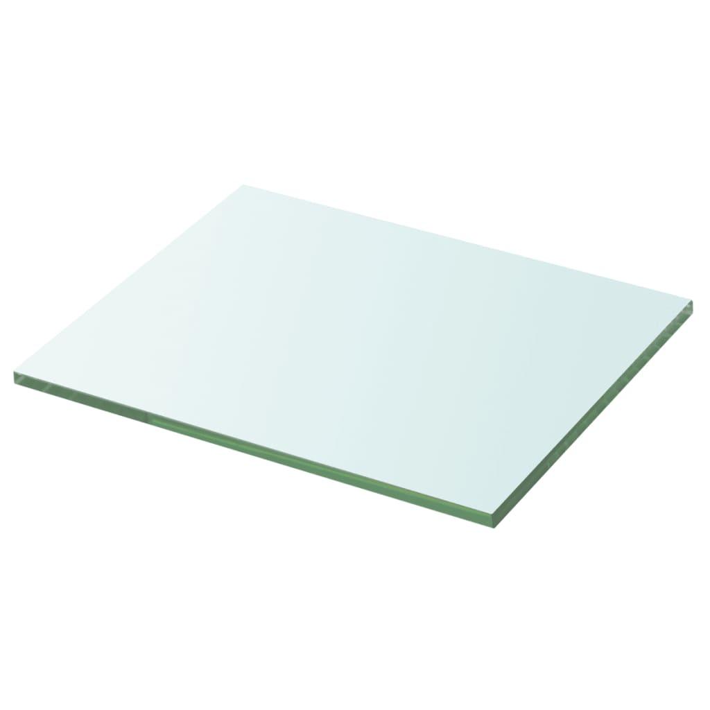 vidaXL Policová deska sklo čiré 20x25 cm