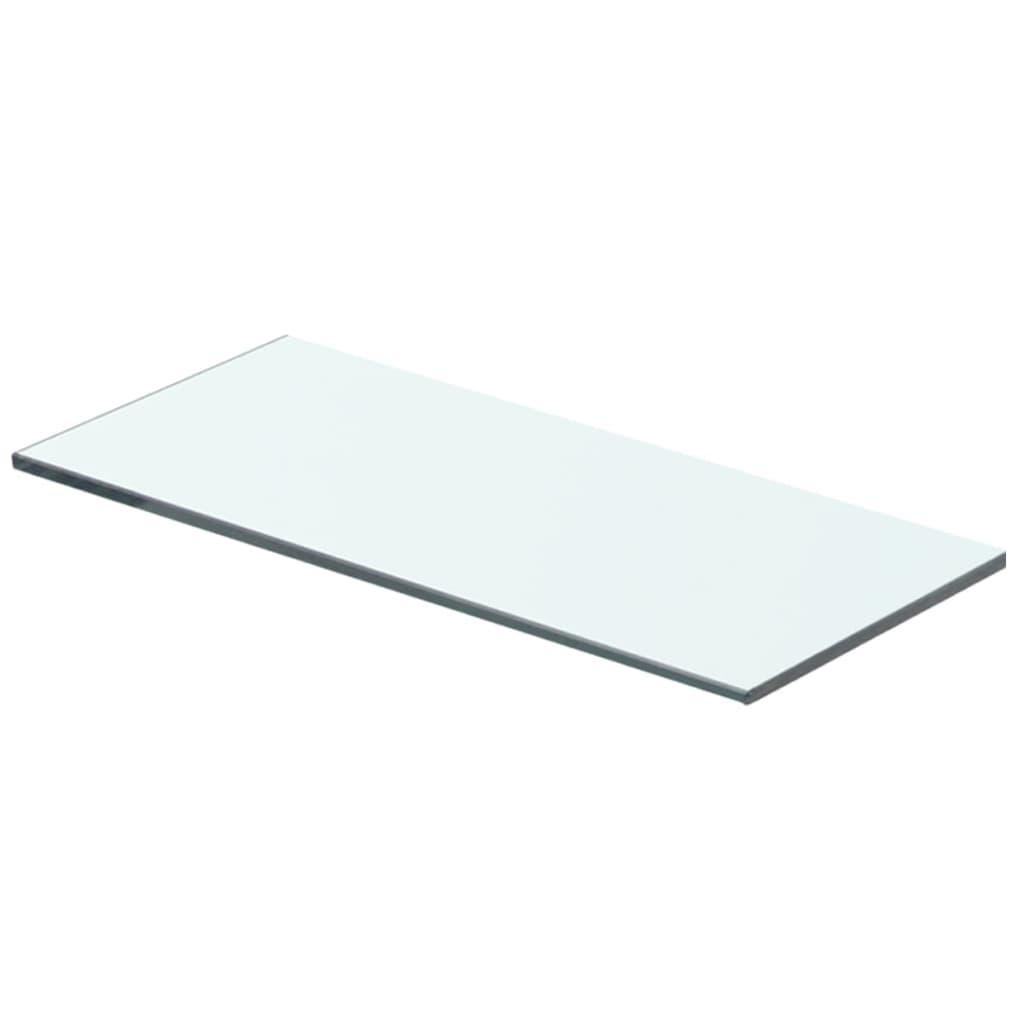 vidaXL Policová deska sklo čiré 40x12 cm