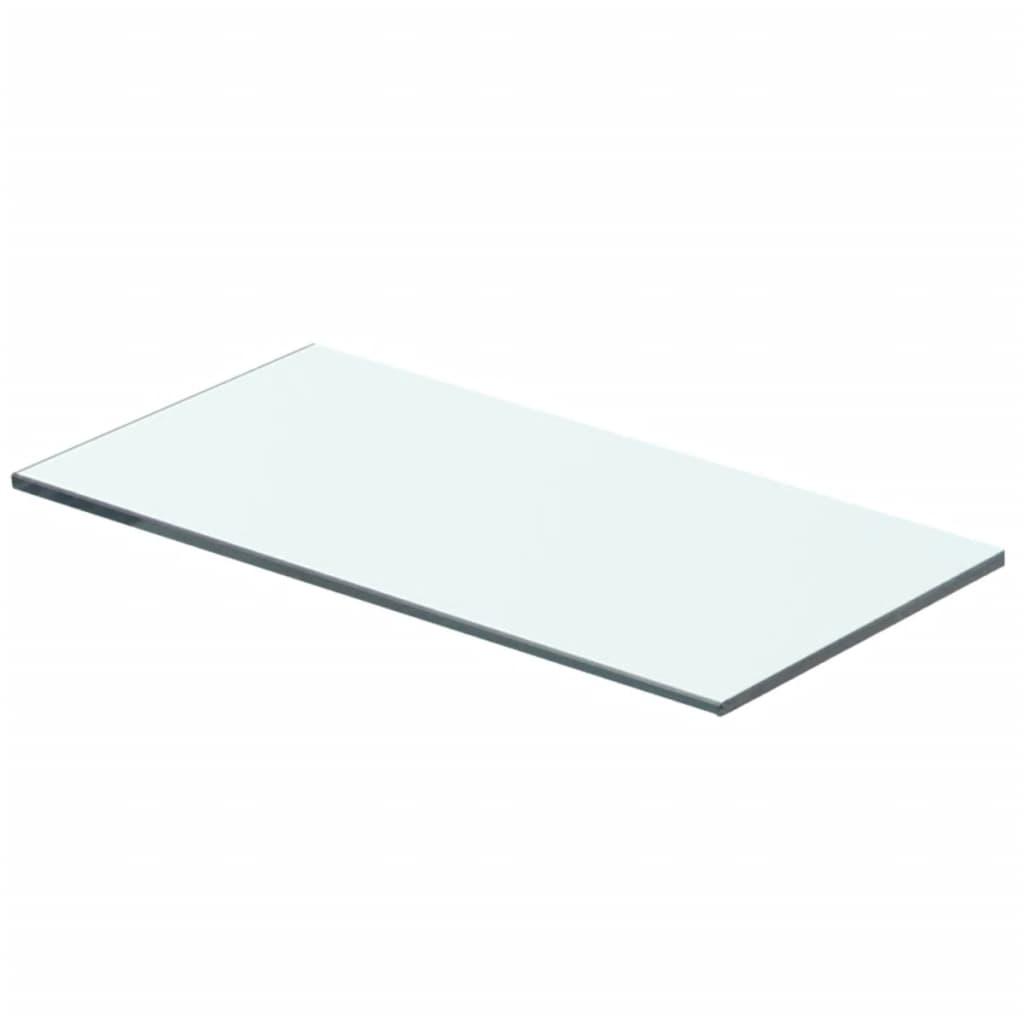 Policová deska sklo čiré 40x15 cm