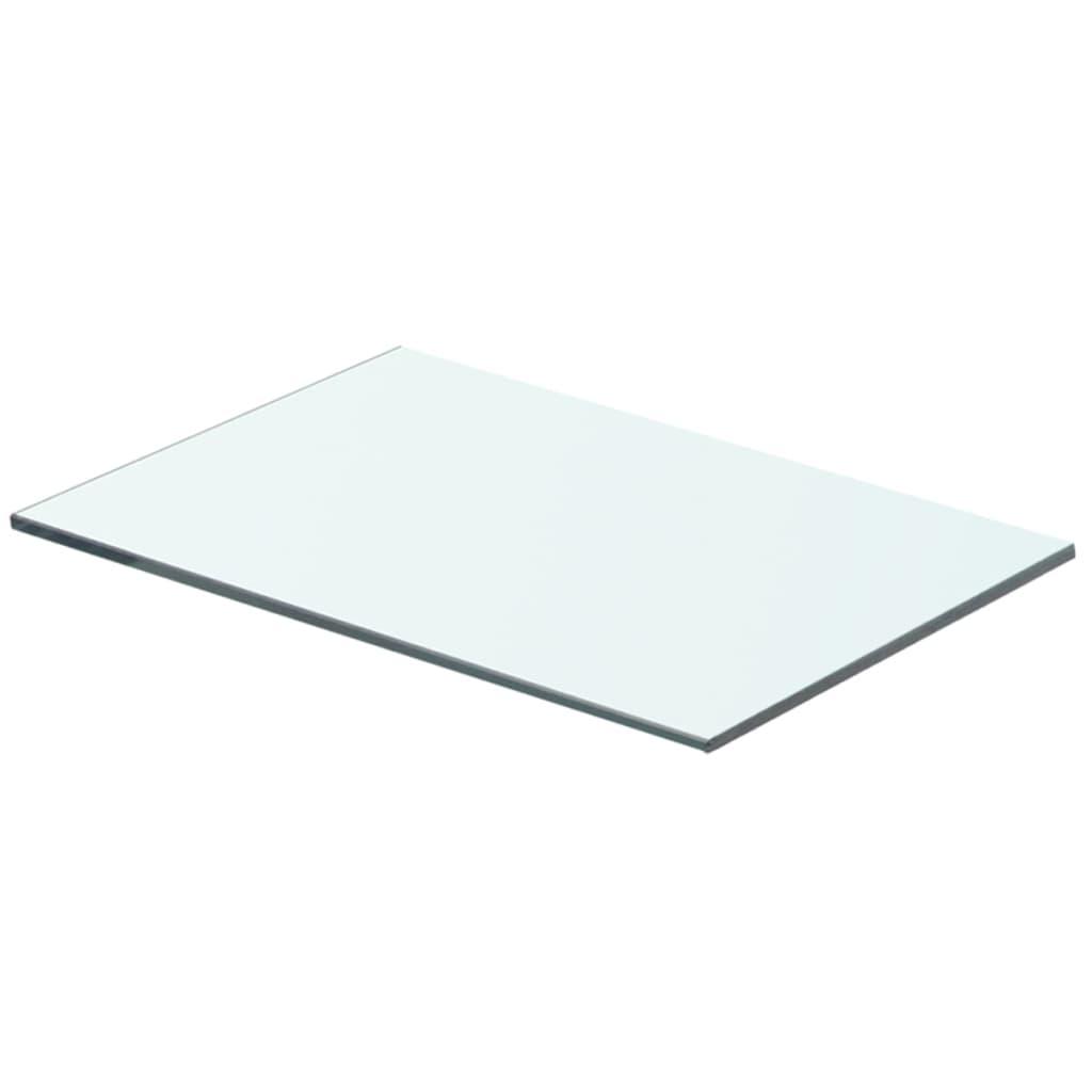 vidaXL Policová deska sklo čiré 40x20 cm