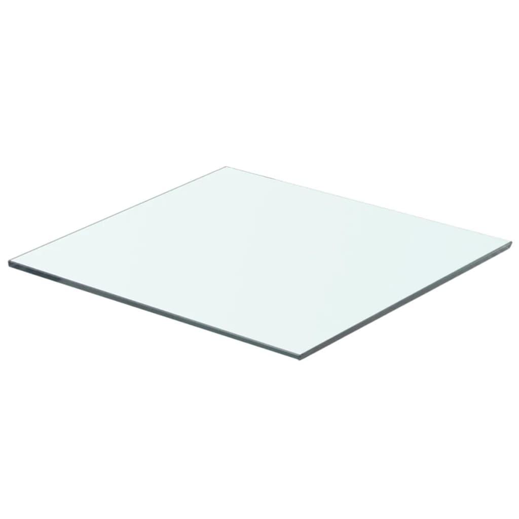 vidaXL Policová deska sklo čiré 40x30 cm