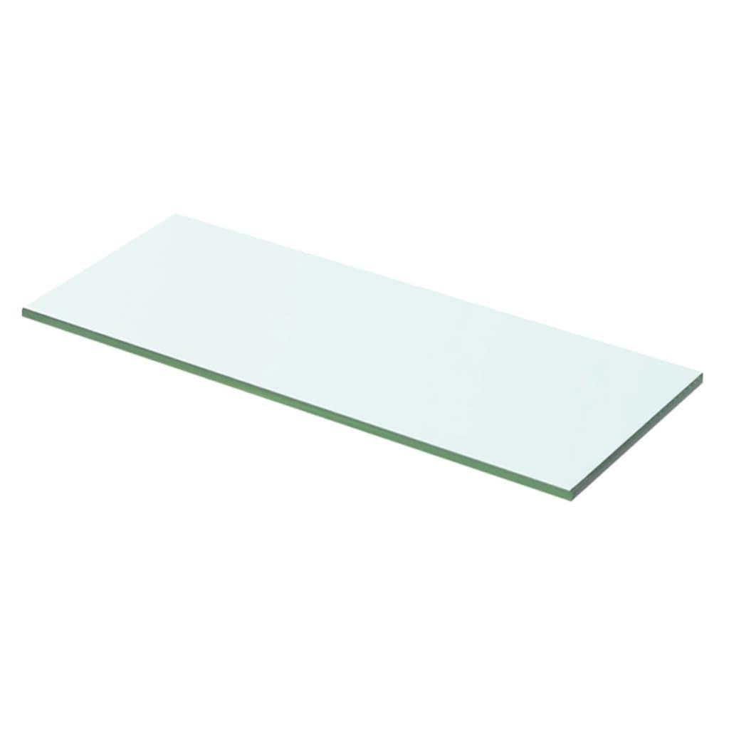 vidaXL Policová deska sklo čiré 50x15 cm