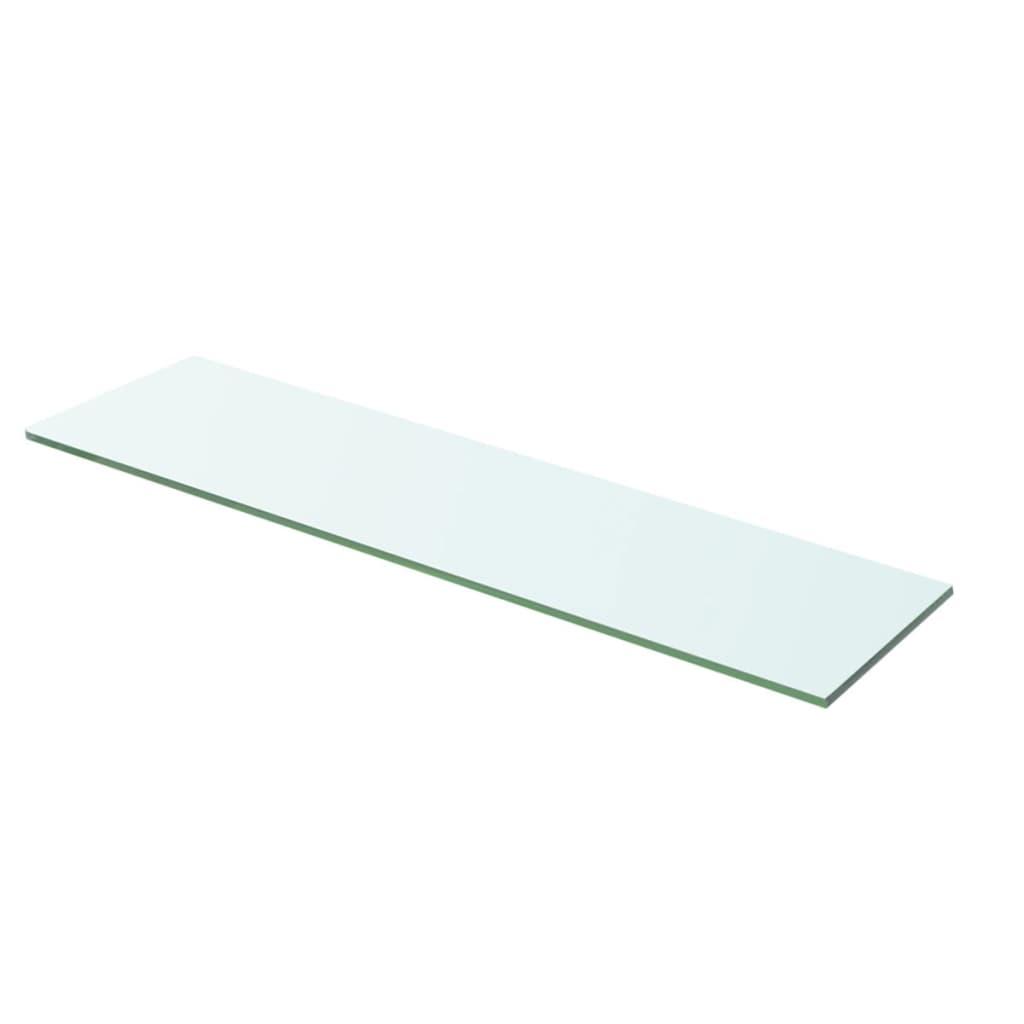 vidaXL Policová deska sklo čiré 60x12 cm