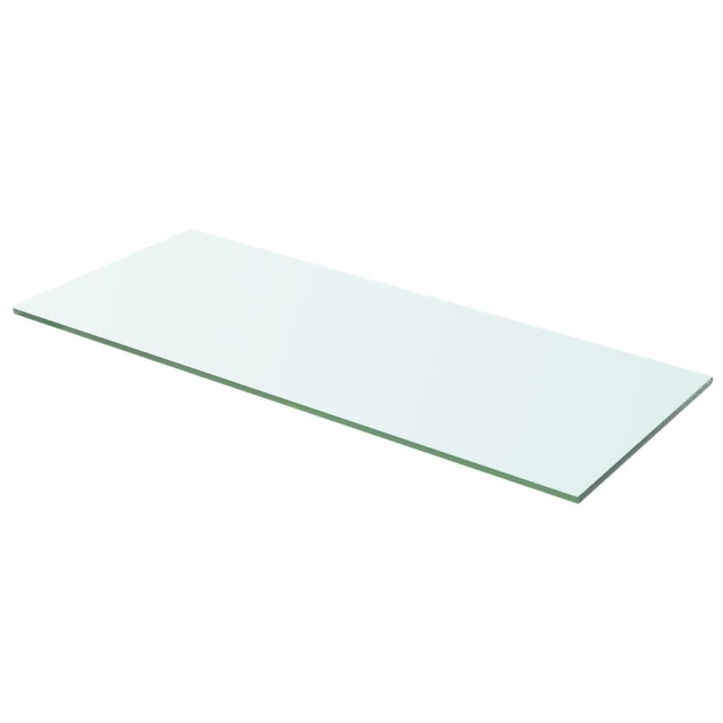 vidaXL Policová deska sklo čiré 60x20 cm