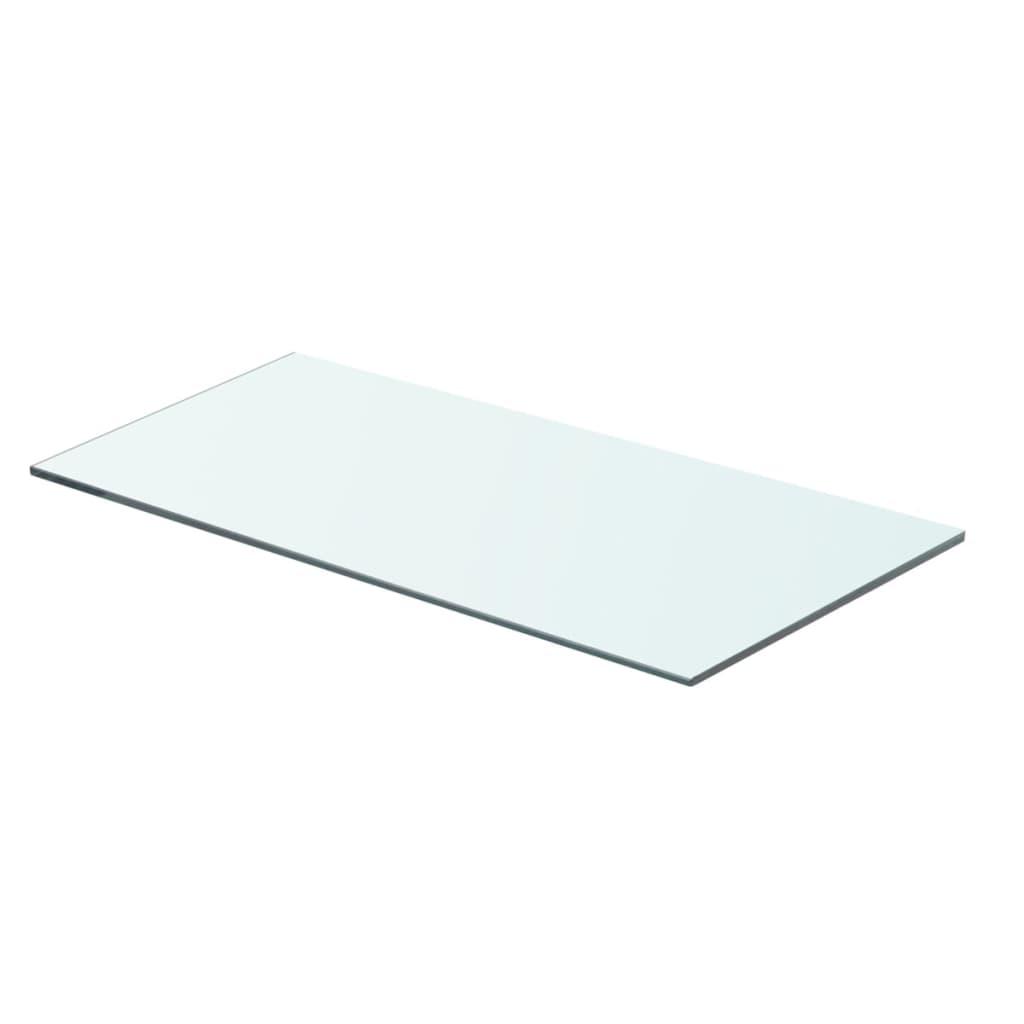 vidaXL Policová deska sklo čiré 60x25 cm