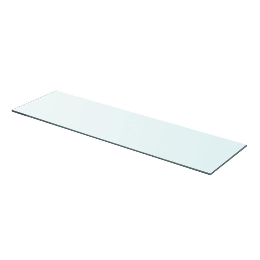 Policová deska sklo čiré 70x20 cm