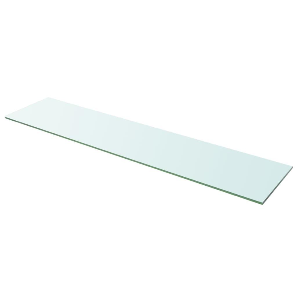 Policová deska sklo čiré 110x25 cm