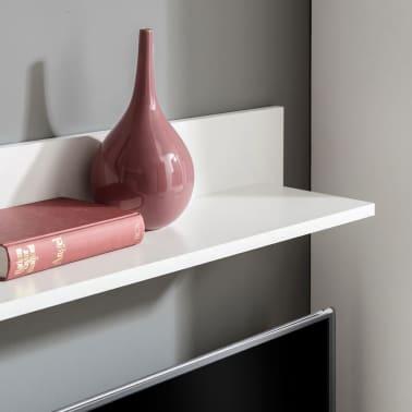 vidaXL Sieninė televizoriaus spintelė su LED apšvietimu, 5d., juoda[4/9]