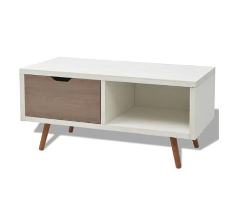 vidaxl tv schrank wei 90x35x43 cm g nstig kaufen. Black Bedroom Furniture Sets. Home Design Ideas