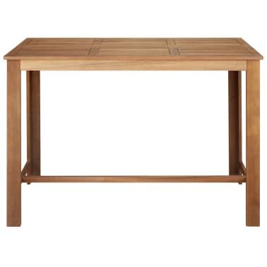 """vidaXL Bar Table 59""""x27.6""""x41.3"""" Solid Acacia Wood[2/5]"""