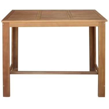 vidaXL Bar Table and Stool Set 5 Pieces Solid Acacia Wood[2/6]