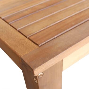 vidaXL Bar Table and Stool Set 5 Pieces Solid Acacia Wood[4/6]