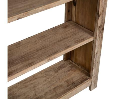 acheter vidaxl biblioth que 5 tag res bois massif d 39 acacia 80 x 30 x 180 cm pas cher. Black Bedroom Furniture Sets. Home Design Ideas