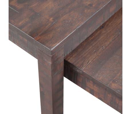vidaXL 3 sustumiami staliukai, masyvi akacijos mediena[4/6]