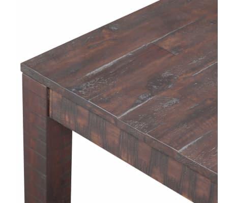 vidaXL Kavos staliukas, masyvi akacijos mediena, 105x55x45 cm[4/6]