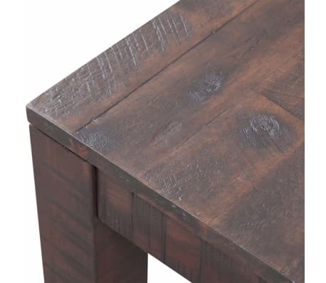 vidaXL Kavos staliukas, masyvi akacijos mediena, 105x55x45 cm[5/6]