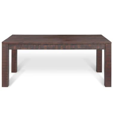 vidaXL Kavos staliukas, masyvi akacijos mediena, 105x55x45 cm[2/6]