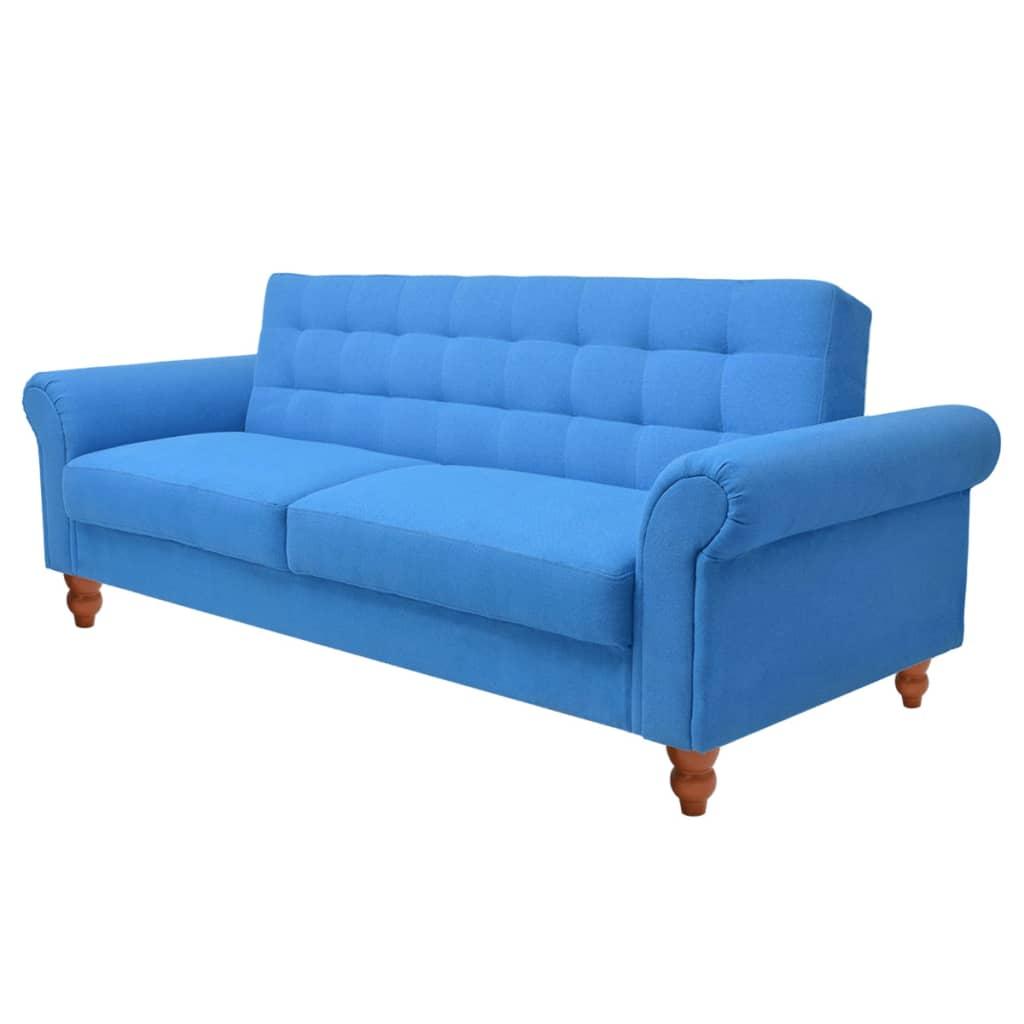 99243923 Schlafsofa Stoff Blau