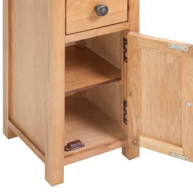 vidaXL Corner Cabinet Solid Oak 26x26x94 cm Brown[5/6]