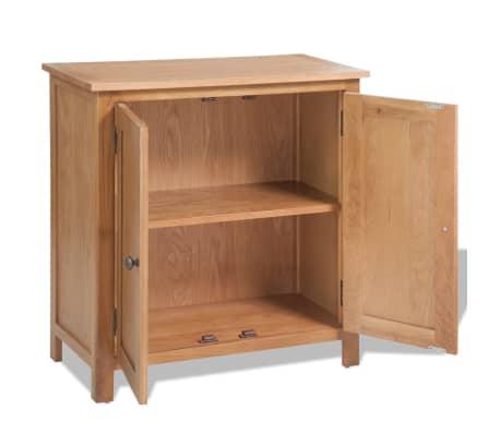 vidaXL Komoda 70 x 35 x 75 cm masivní dubové dřevo[4/6]