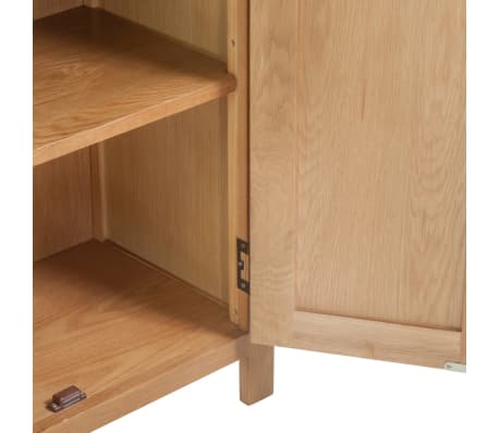 vidaXL Spintelė, 70x35x75cm, ąžuolo medienos masyvas[5/6]