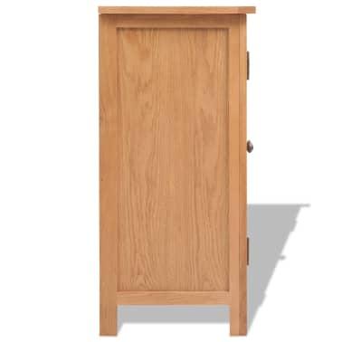 vidaXL Komoda 70 x 35 x 75 cm masivní dubové dřevo[3/6]